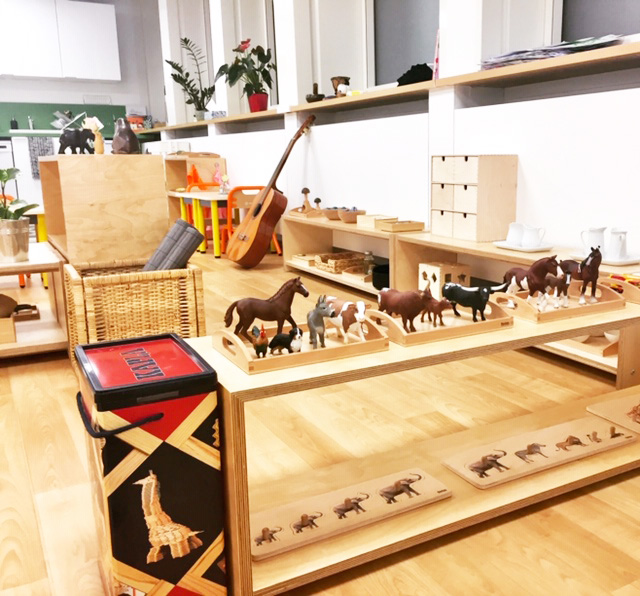 EMBL - Montessori kindergarten bilingual