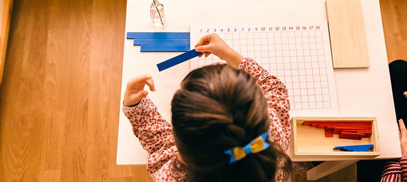 EMBL - Ecole maternelle Montessori bilingue - Maths material