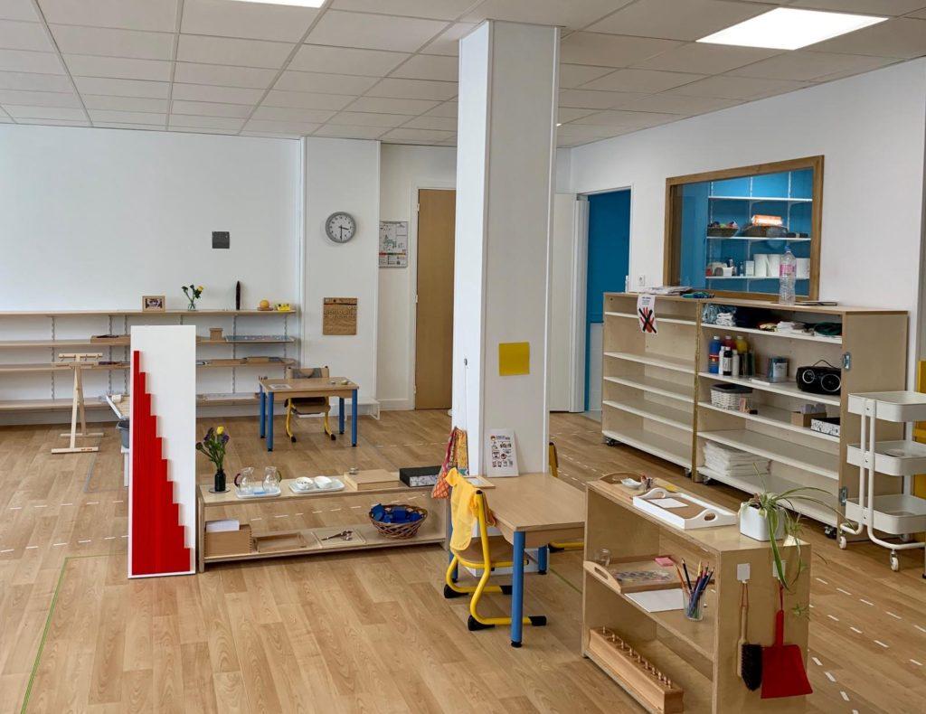 EMBL - Ecole maternelle Montessori bilingue